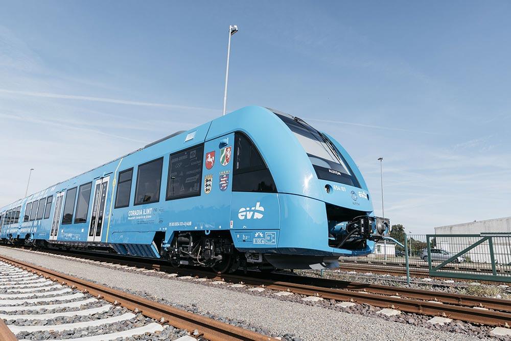 В Германии создали первый поезд на водородном топливе