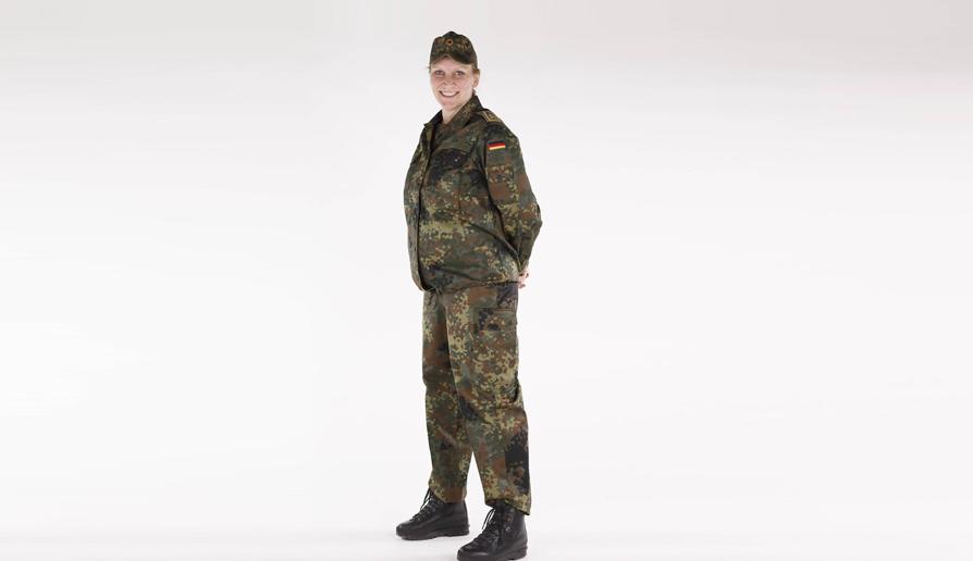 Немецкая армия разработала форму для беременных солдат