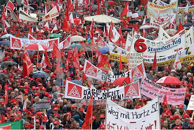 Профсоюз в Германии - грозная сила!