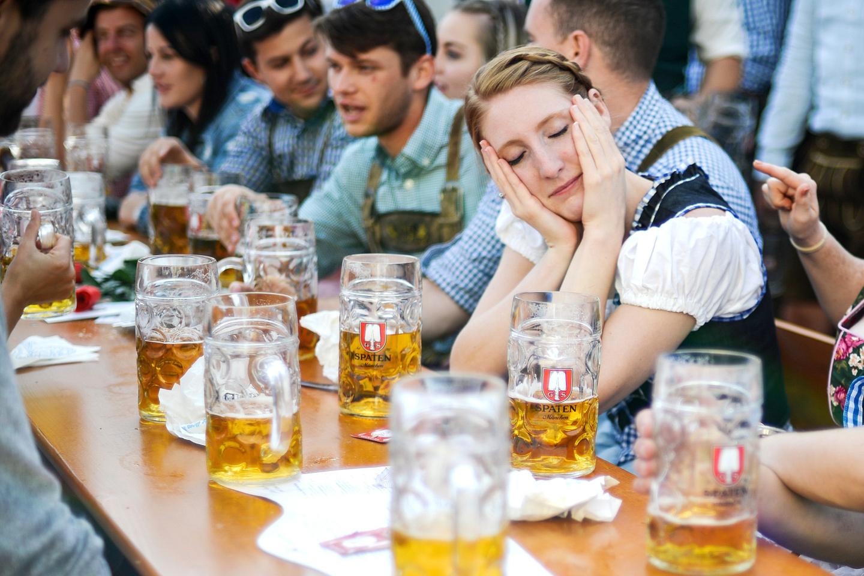 На Октоберфесте выпили 7,5 миллиона литров пива