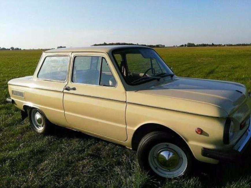 968-й запорожец без пробега продают за 30 000 евро