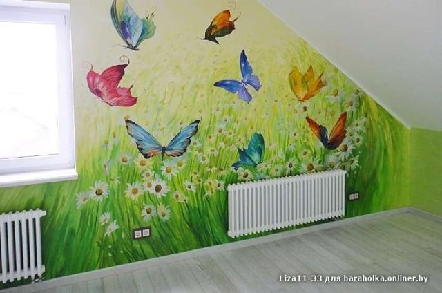 Распишу стены в детской комнате MV