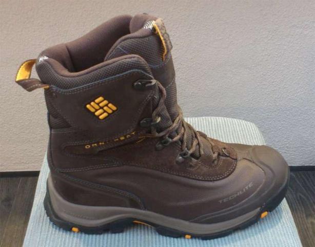 Продам ботинки мужские  Columbia Omni-Heat
