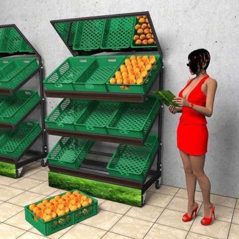 Стеллаж для овощей