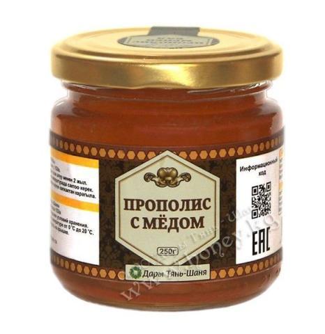 Прополис с медом/250гр