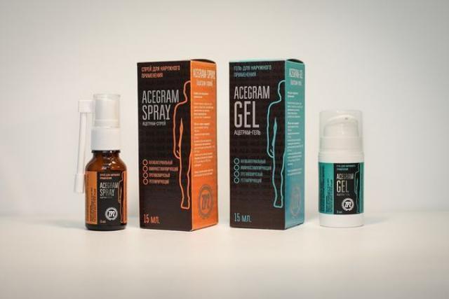 Аcegram gel & spray