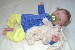Кукла-реборн mary, скульптор olga auer