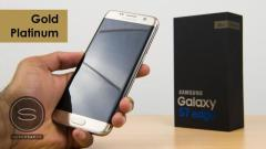 Samsung galaxy s7 edge platinum gold