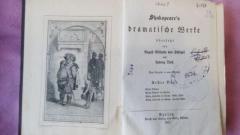 Книги старинные на немецком языке