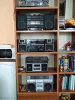 В коллекцию старые немецкие японские магнитолы 80х годов