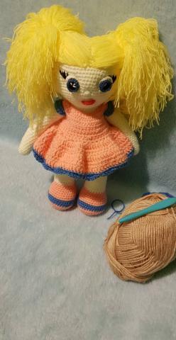 Продам вязаные куклы (ручная работа) крючком