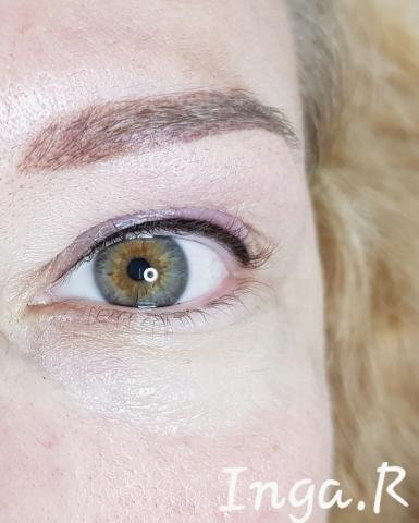 Перманентный макияж (татуаж) бровей, глаз, губ.