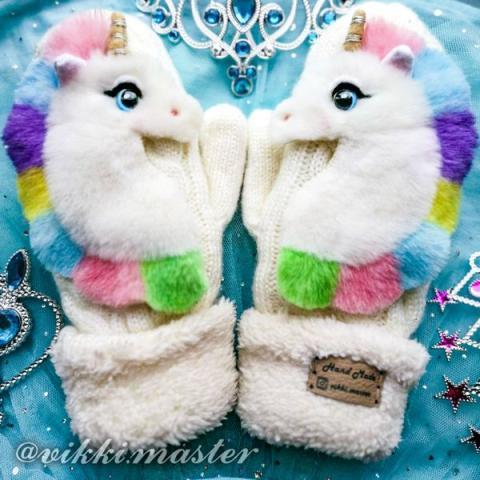 Звероварежки mittens