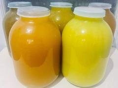 Мёд , чернослив, фундук , виноград , яблоки , вишня в собственном соку, с молдавии