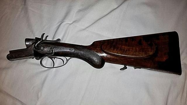 Старинное немецкое ружьё