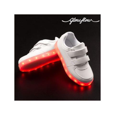 Детские кроссовки со светодиодами glowflow kids