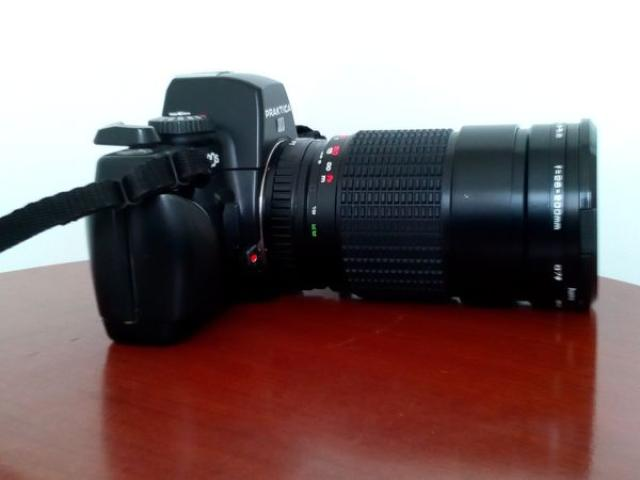 Фотоаппарат пленочный  praktica bx20s + объектив + filter hama uv-390