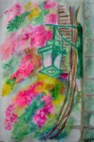 Gemälde aquarell blumen