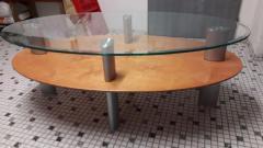 Ovaltisch für wohnzimmer.
