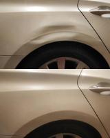 Удаление вмятин без покраски на легковых автомобилей
