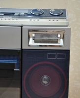 Tape recorder, vintage sharp vz-v2...
