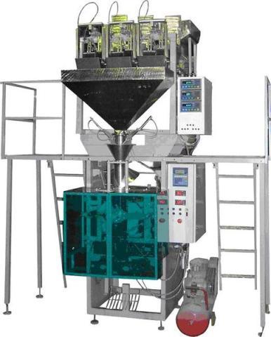 Фасовочное оборудование - автомат упаковки, фасовки сыпучих продуктов ауф-в-1-3