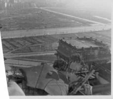 Панорамное фото берлина с купола рейхстага 1948 год.