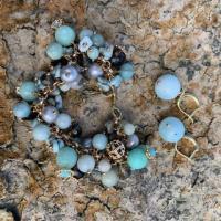 Авторские украшения из полудрагоценных камней