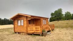 Деревянные садовые домики