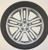 Продаю колеса в сборе для mercedes gls на зимней резине