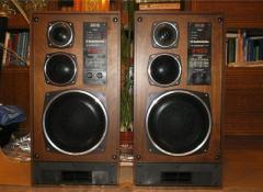 Акустические колонки радиотехника s-90d