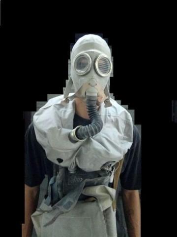 Isolierende gasmaske ip-5