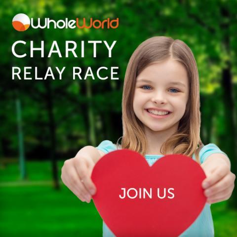 Присоединяйся к благотворительному марафону