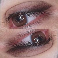 Перманентный макияж бровей губ глаз растушовка