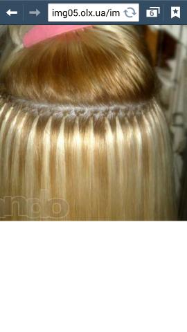 Наращивание натуральных волос, микронаращивание