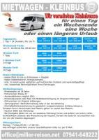 Аренда микроавтобусов 9 мест от 49,99€ D-74613 Öhringen и окрестности.
