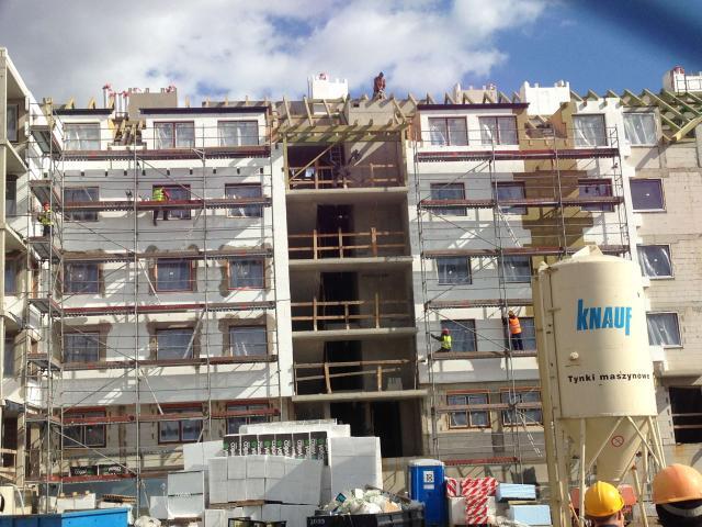 Бригада фасадчиков ищет работу в Германии