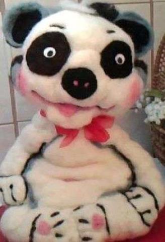 "Pandabär ""Bo"" ca. 33 cm groß – 35,00 €"
