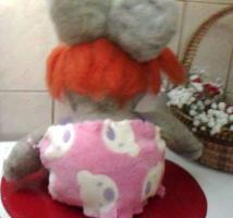 """Häschen """"Brooby"""" ca. 300 gr., ca. 30 cm  groß – 35€"""