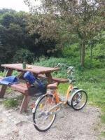 3rad fahrad . 3х колесный велосипед