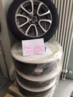 Новые шины с дисками на Maserati