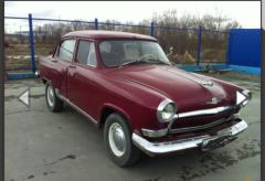 Ретро автомобиль эпохи СССР