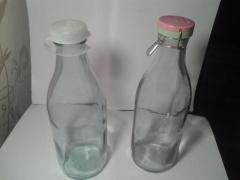 Молочная бутылка 1 литр СССР