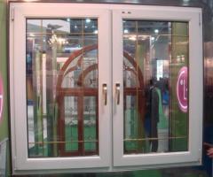 Окна и оконные блоки (Стеклопакеты )  , из Беларуссии ,из  дерева.