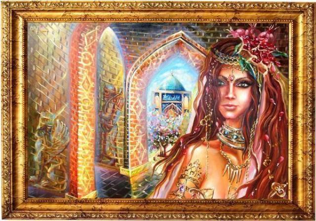 Картина «Девушка Востока»