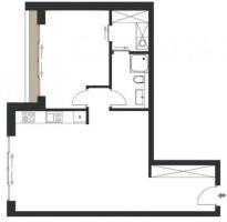 Квартира в Berlin – Charlottenburg   € 420.000.  65 м².   Комнат 2