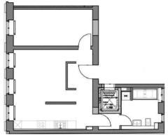 Квартира в Berlin-Mitte € 399.000.   57 м².  Комнат 2