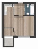 Квартира в Berlin-Steglitz  € 112.288.   35 м². Количество комнат  1