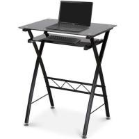 Miadomodo computertisch laptoptisch mit tischplatte aus sicherheitsglass