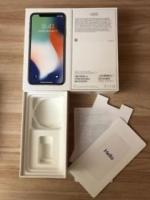 Apple iphone x 4g phone (256gb) new